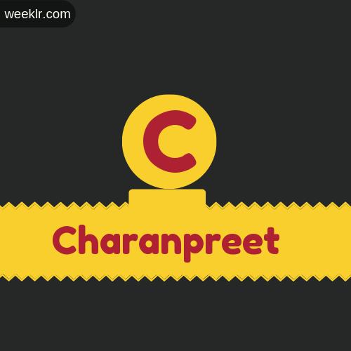 Stylish -Charanpreet- Logo Images