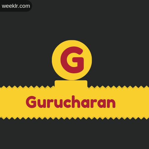 Stylish -Gurucharan- Logo Images