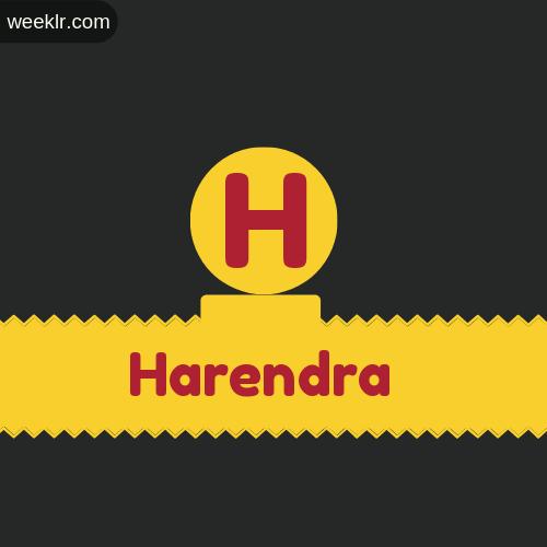 Stylish -Harendra- Logo Images