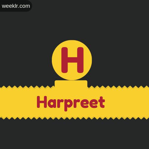 Stylish -Harpreet- Logo Images