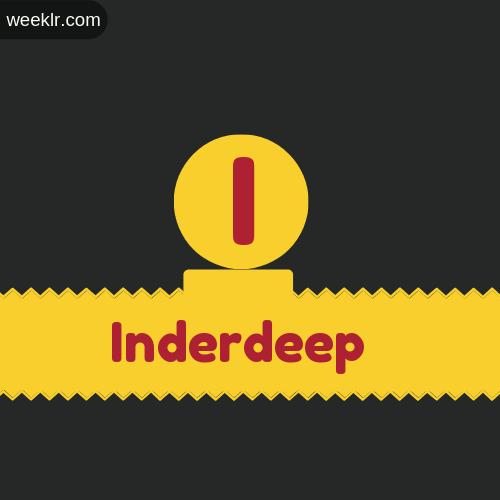 Stylish -Inderdeep- Logo Images