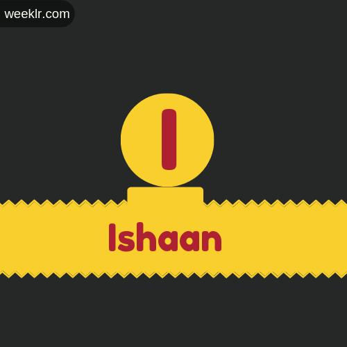 Stylish -Ishaan- Logo Images