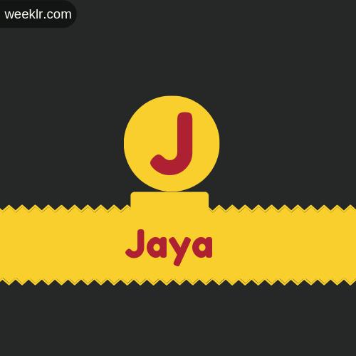 Stylish -Jaya- Logo Images
