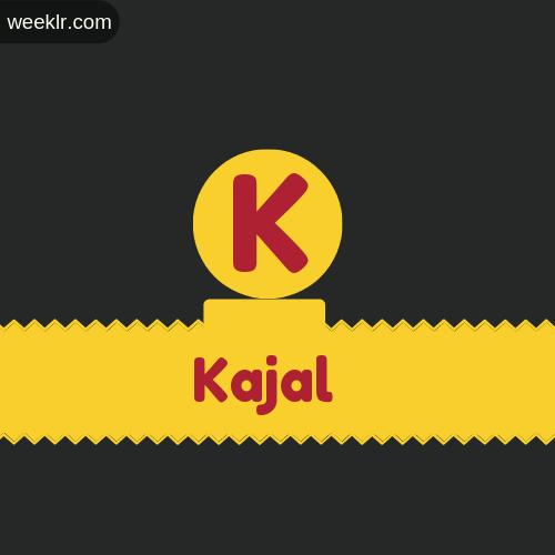 Stylish Kajal Logo Images