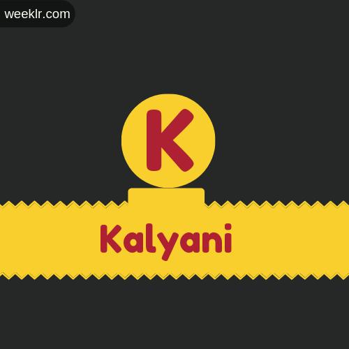 Stylish -Kalyani- Logo Images