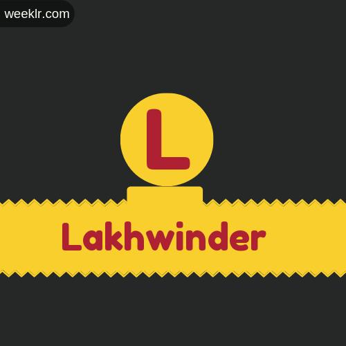 Stylish -Lakhwinder- Logo Images