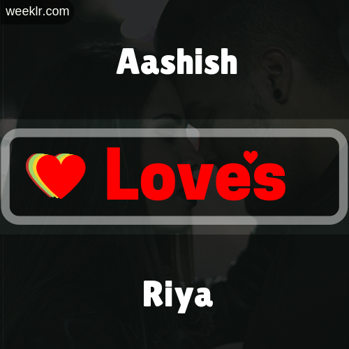Aashish  Love's Riya Love Image Photo