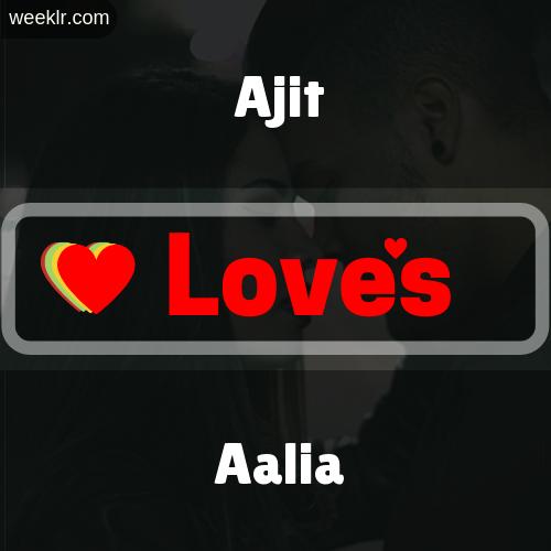 Ajit  Love's Aalia Love Image Photo