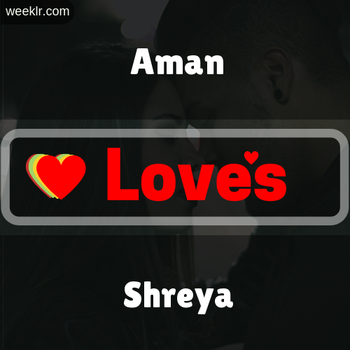 -Aman- Love's-Shreya- Love Image Photo