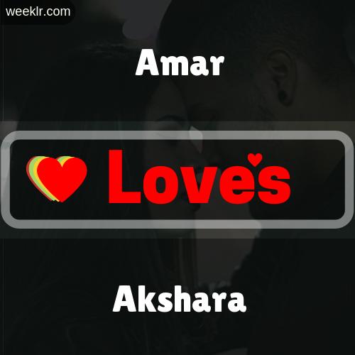 Amar  Love's Akshara Love Image Photo