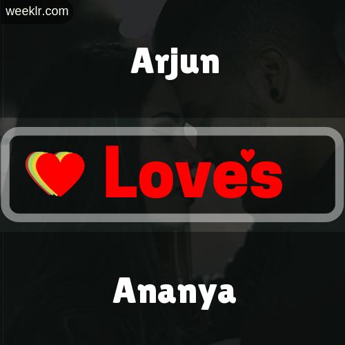 -Arjun- Love's-Ananya- Love Image Photo