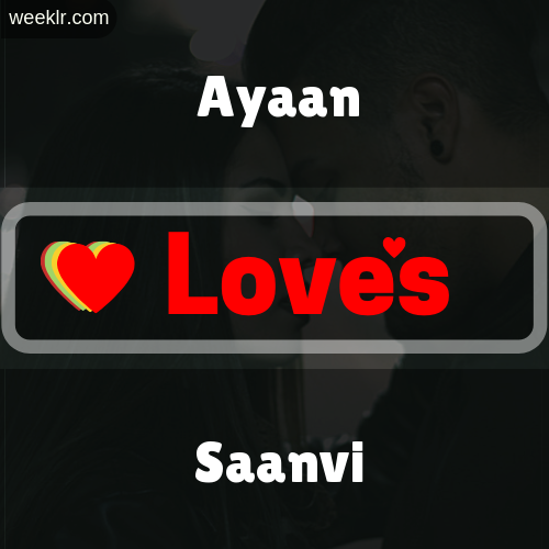 -Ayaan- Love's-Saanvi- Love Image Photo