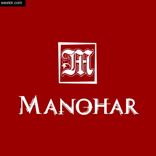 -Manohar- Name Logo Photo Download Wallpaper
