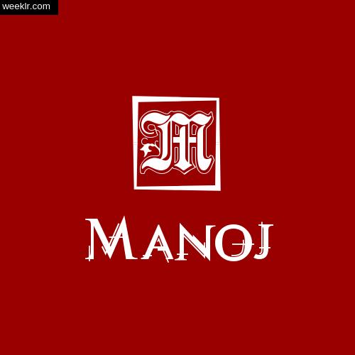 -Manoj- Name Logo Photo Download Wallpaper
