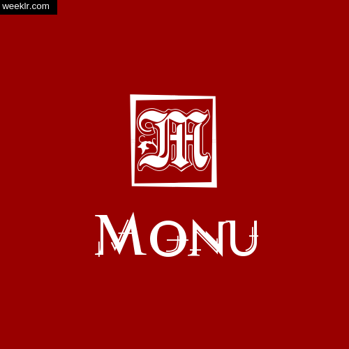 -Monu- Name Logo Photo Download Wallpaper