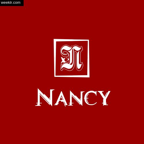 -Nancy- Name Logo Photo Download Wallpaper