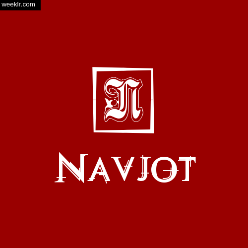 -Navjot- Name Logo Photo Download Wallpaper