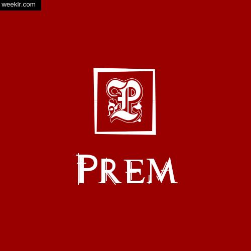 -Prem- Name Logo Photo Download Wallpaper