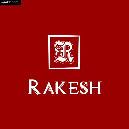 -Rakesh- Name Logo Photo Download Wallpaper