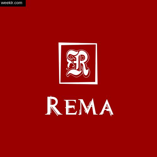 -Rema- Name Logo Photo Download Wallpaper