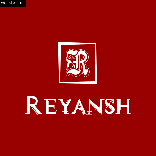 -Reyansh- Name Logo Photo Download Wallpaper
