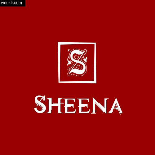 -Sheena- Name Logo Photo Download Wallpaper