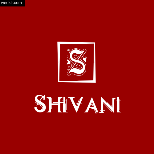 -Shivani- Name Logo Photo Download Wallpaper