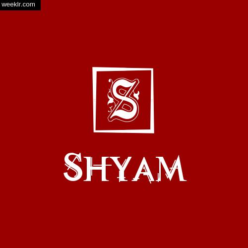 -Shyam- Name Logo Photo Download Wallpaper