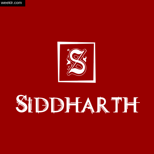 -Siddharth- Name Logo Photo Download Wallpaper