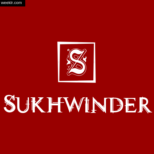 -Sukhwinder- Name Logo Photo Download Wallpaper