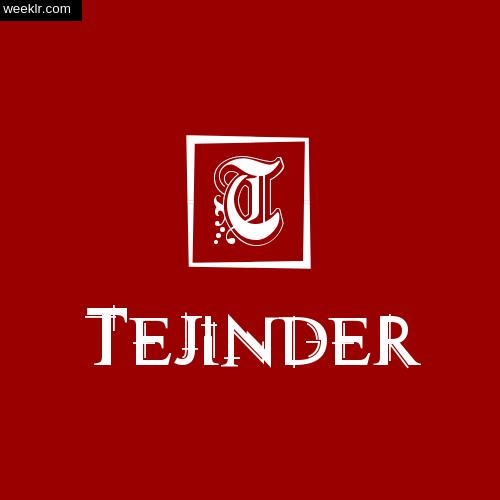 -Tejinder- Name Logo Photo Download Wallpaper