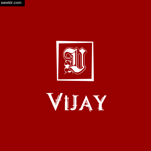 -Vijay- Name Logo Photo Download Wallpaper
