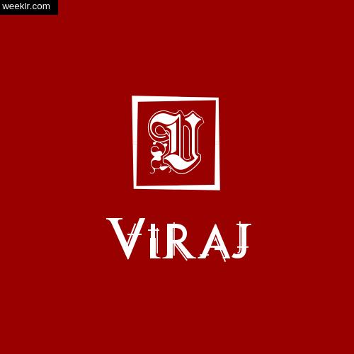 -Viraj- Name Logo Photo Download Wallpaper